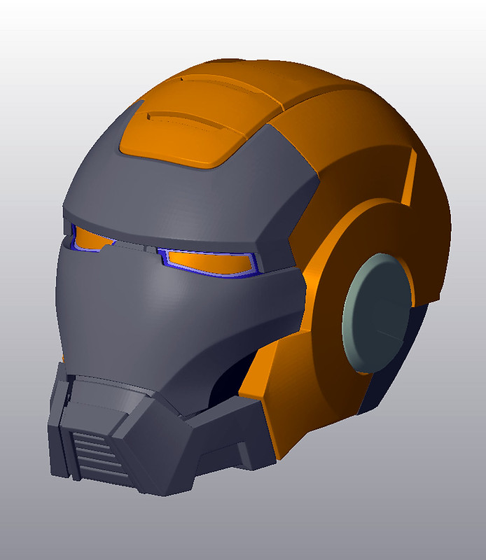 3D Model for Helmet