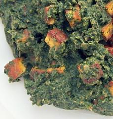Indiase spinazie met panir