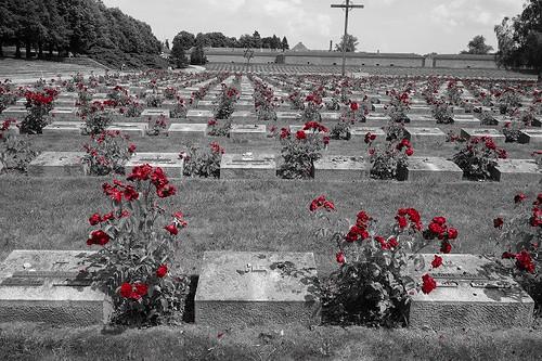テレジン収容所の墓