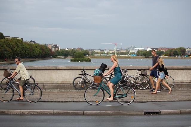 Barefoot Biking