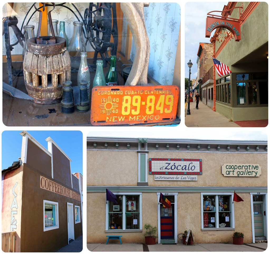 Las Vegas New Mexico shops and galleries