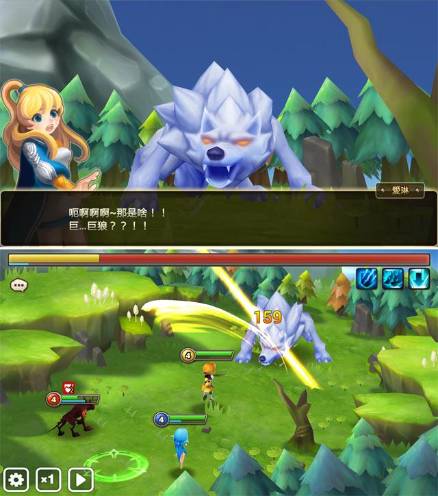 魔靈召喚練功APP手遊手機iOS遊戲魔靈召喚:天空之役3D韓國com2us魔靈Android人2人2的插画星球People2