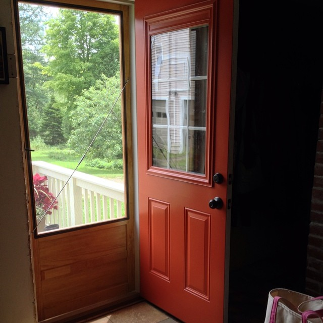 What's a farmhouse without screen doors in the summer?