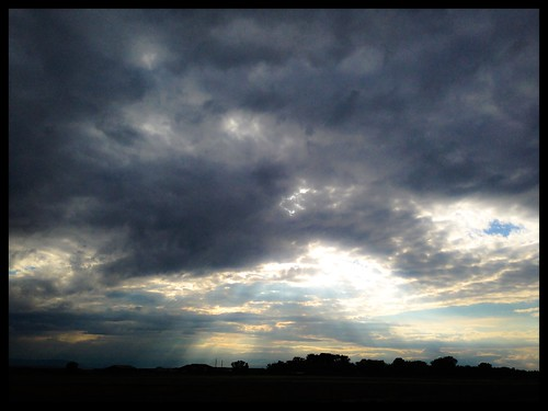 A new day with jesus rays