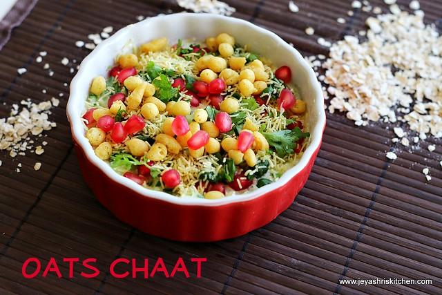 oats chaat recipe | indian oats recipes