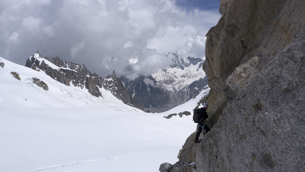 Pointe Lachenal Traverse 2