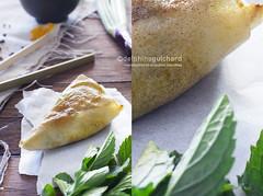 Samoussa de boeuf et sauce au pamplemousse - Beef…