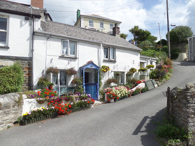 Houses at Pentewan Beach