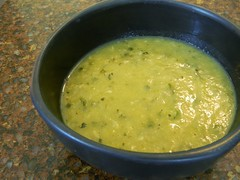 Garlic and Zucchini Soup