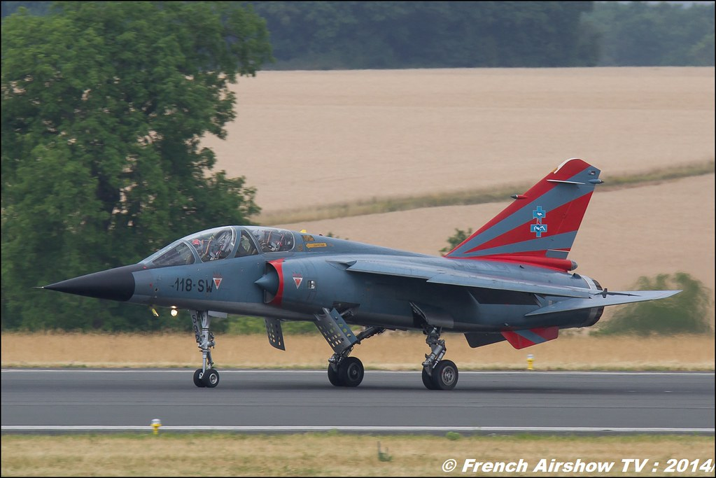 Patrouille Mirage F1, CAROL HOTEL Meeting Aerien BA-133 Nancy Ochey 2014