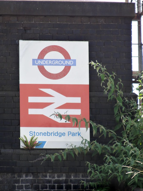 068 - Stonebridge Park with former National Rail logo