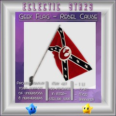 Eclectic Stars - Geek Flag - Rebel Cause