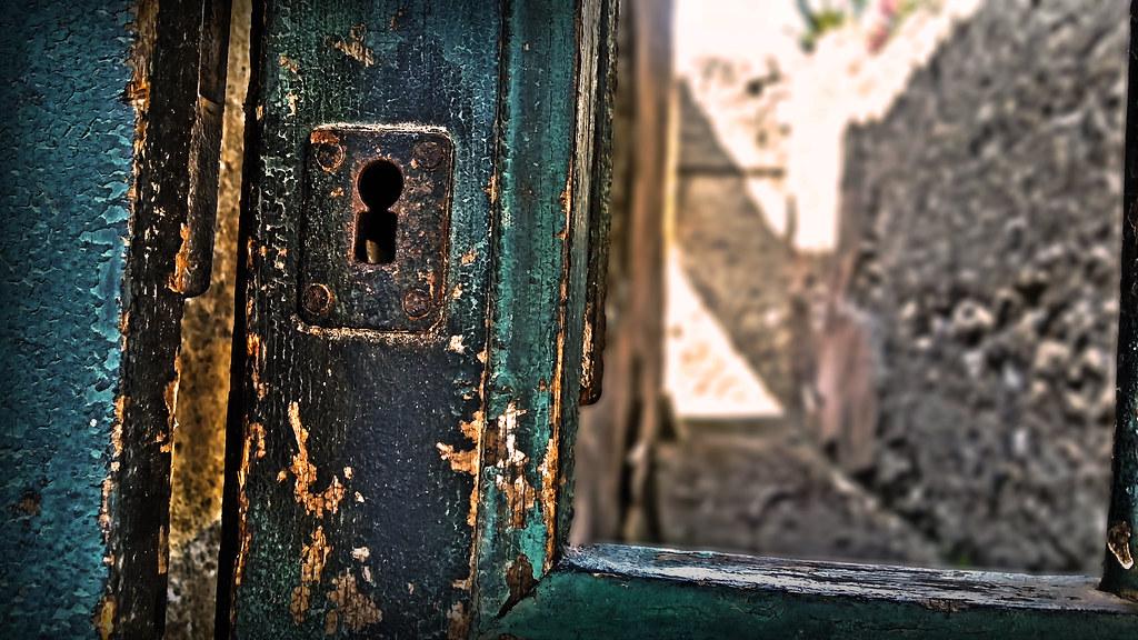 2000 year old door