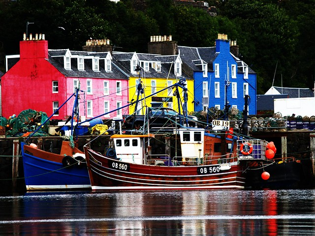 Tobermory Harbour, Isle of Mull, Scotland