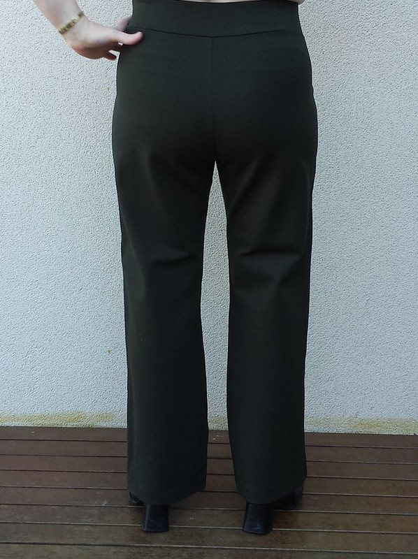 StyleARC Linda pants in heavy poly/lycra knit