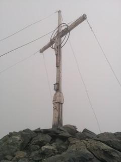 Gipfelkreuz Hasenöhrl 3.257 m