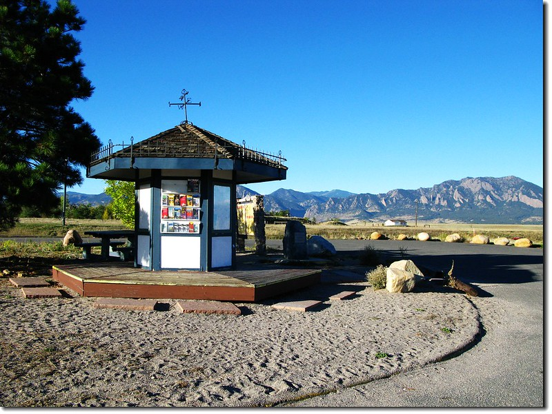 Visitor center along US-36 near Boulder