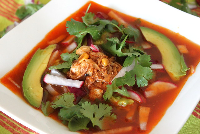 Chicken Pozole Rojo