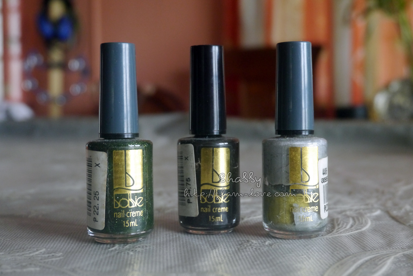 Really old nail polishes and a nail hardener – Glam Love
