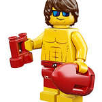 LEGO Collectable Minifigures Series 12 - Lifeguard Guy