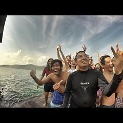 #wefie on Wisma Apung, #Karimunjawa. #gopro #goprohd #selfie #travel #triptothemoon #vacation #trip