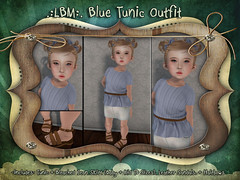 {LBM} Blue Tunic Outfit ad