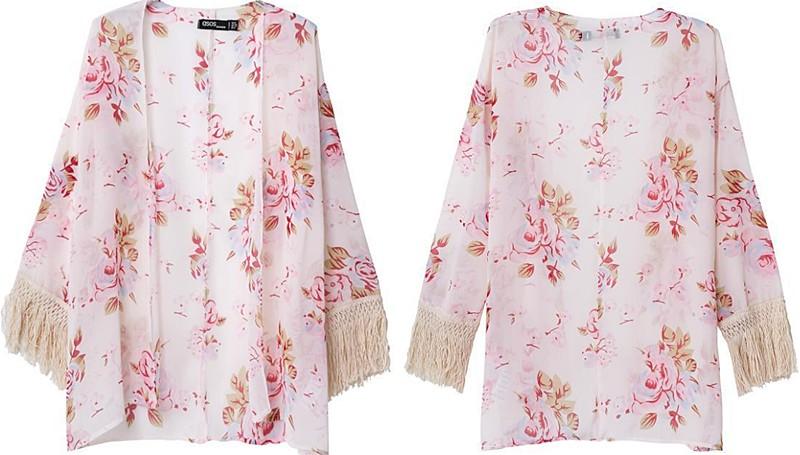 O8 Spring Pink Kimono