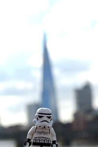 Stormy checks out the shard