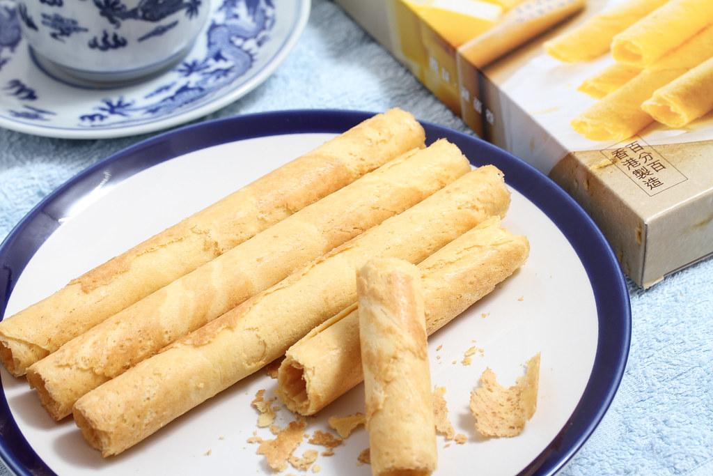Mei Xin Mooncake: Egg Rolls