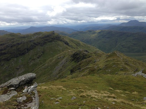 Down to the bealach