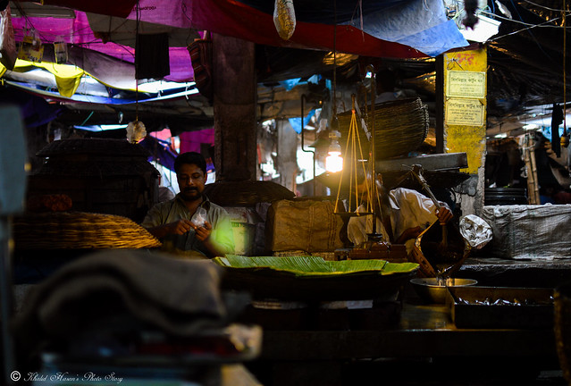 Vibrant Fish Bazar