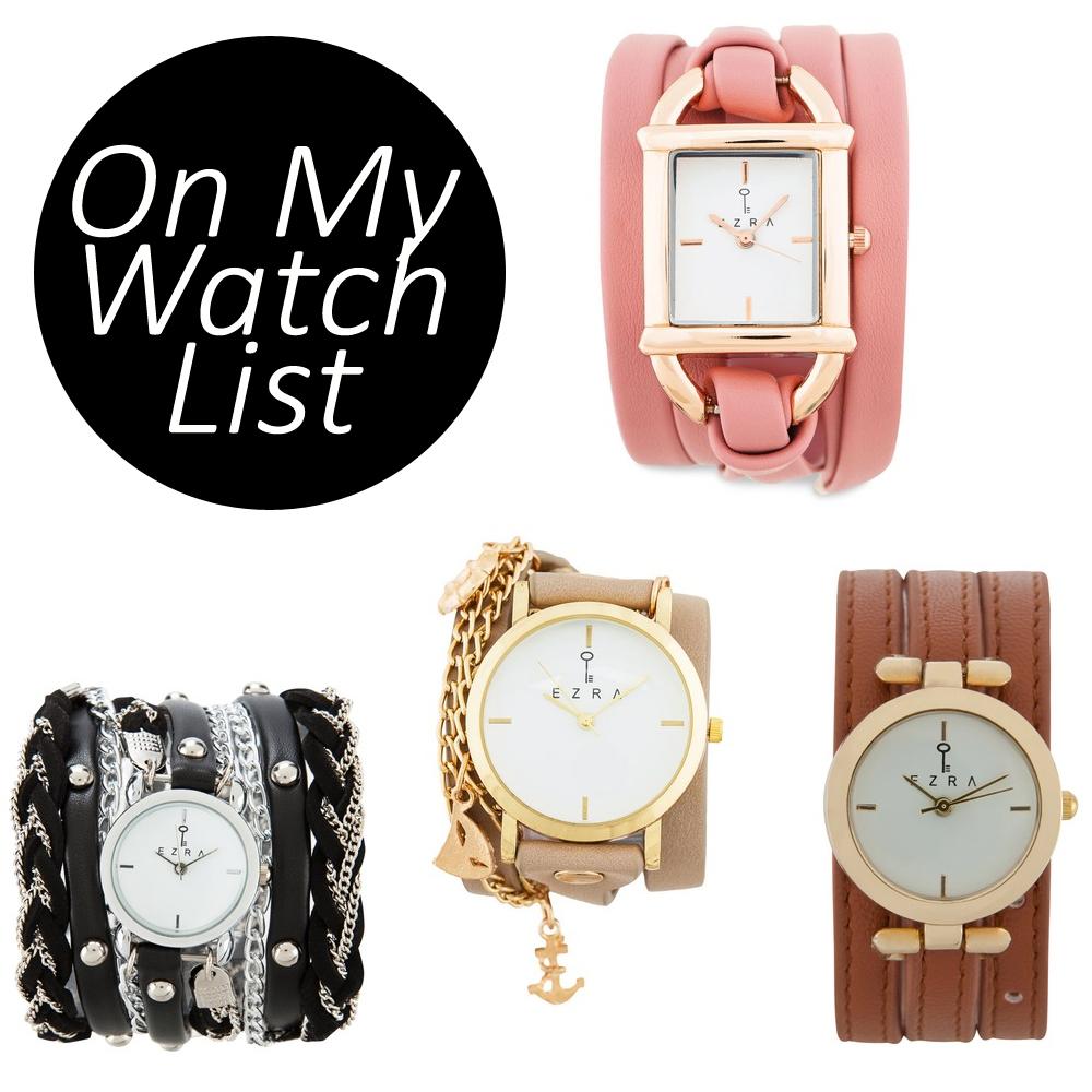 Wish List: Wrap-Around Watches