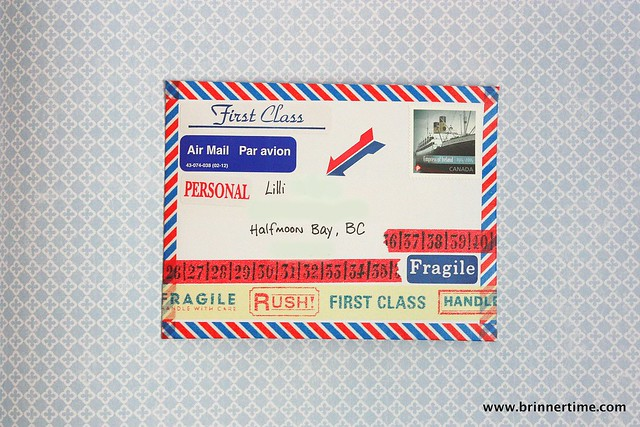 Airmail to BC, outgoing