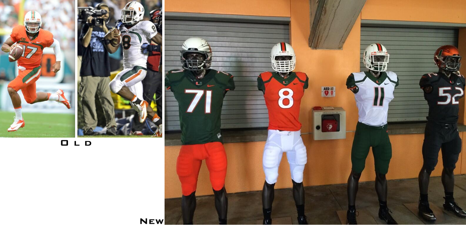 c084215bc The Hurricanes also have new green and orange helmet options. You can see  the new uni elements in a wide range of mix-and-match formats by clicking  through ...