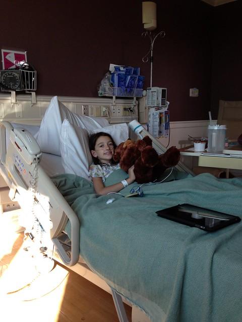 Reagan In The Hospital