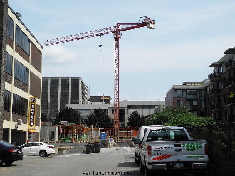 Ste Catherine construction 1
