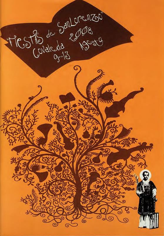 Programa Fiestas de San Lorenzo Año 2008