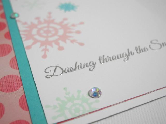 Dashing Through the Snow (detail)