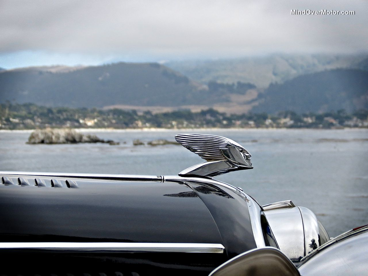 Pebble Beach 2014 Delahaye 135M Hood Ornament
