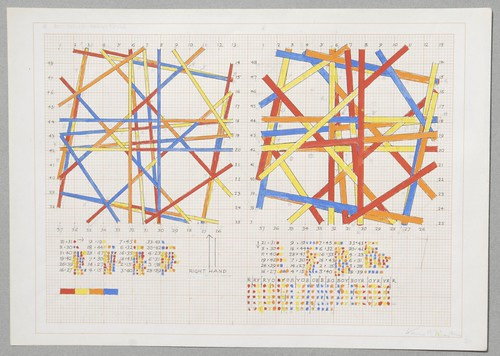 Kenneth-Martin-Chance-Order-Change-Drawing-KMA-21-1981-ink-pencil-and-gouache-on-orange-graph-paper-30-x-42-in-cm-17
