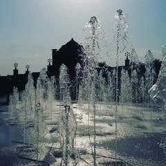 Fountains at Emirates Palace Hotel #InAbuDhabi