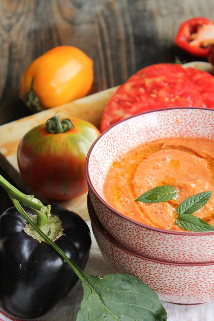 Recette gaspacho melon