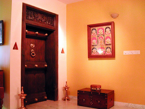 archana srinivas' pooja room