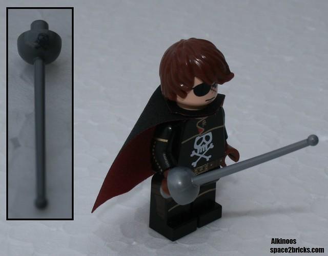 Albator, Captain Harlock Lego p8