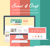 Colorful Flat UI Web Design