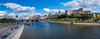 Panorama of Moscow center