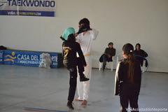 Niños y jóvenes de Gómez Carreño se recrean al salir de clases con taller de Taekwondo