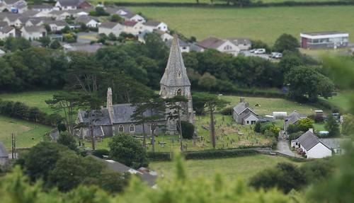 church wales cymru shift tilt campsite tiltshift pengarreg lumixg2 panasoniclumixg2
