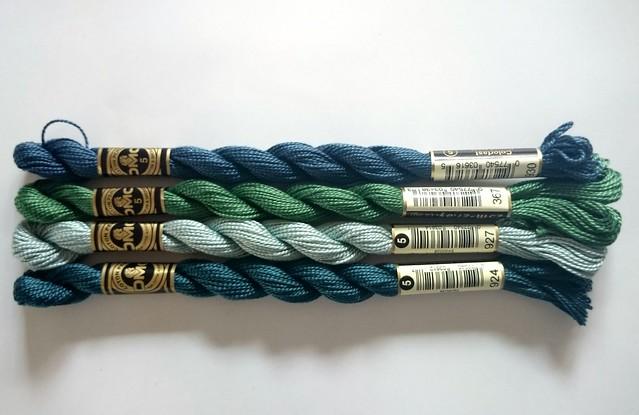 DMC 5 cottons