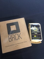 I ran into @whiteafrican in Fort Mason and scored my BRCK. result! @brcknet